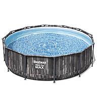 Каркасный бассейн Bestway Wood Style 366х100 см с картриджным фильтром