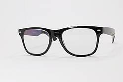 Іміджеві окуляри в стилі Ray Ban. Скляна лінза з антибликом і тонуванням 10%