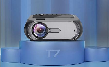 Мультимедийный проектор T7 андроид WIFI, фото 2