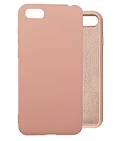 Чехол Silicone Case Full для Honor 7a Pink Sand