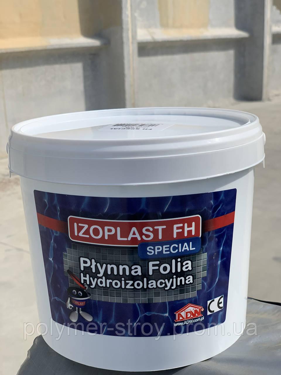 Izoplast FH Special – однокомпонентная акриловая гидроизоляционная мембрана