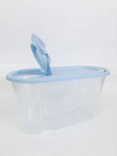 Ёмкость для сыпучих продуктов,  объём — 0,8 л цвет крышки  в ассортименте., фото 2