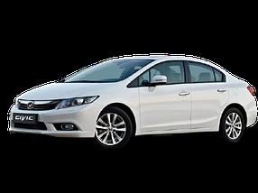Накладки на задний бампер для Honda (Хонда) Civic 9 2011-2017