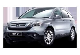 Накладки на задний бампер для Honda (Хонда) CR-V 3 2007-2011
