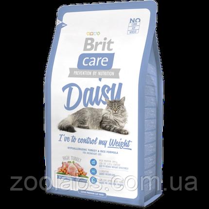 Корм Brit Care для кошек с индейкой | Brit Care Cat Daisy I Have To Control My Weight 7 кг, фото 2