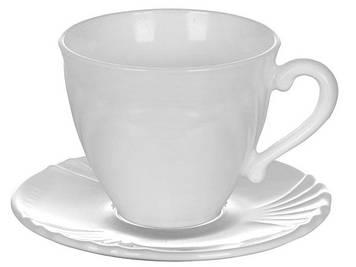 """Набір чайний скло 12предм. (6чаш. 220мл+6бл.) """"Luminarc.Cadix"""" №37784/77840(8)"""