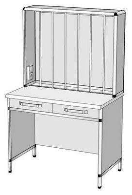 Стол титровальный СТ-1 (1000x600x1600)