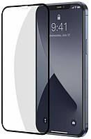 Защитное стекло 5D Premium (Full Glue) Apple iPhone 12 Черный