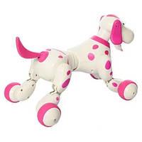 Интерактивная собака на радиоуправлении 777-338, белая с фиолетовым
