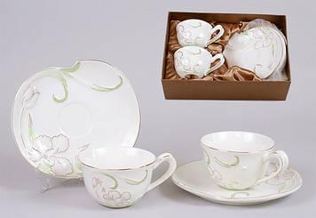 Набір чайний керам. 4предм. (2чаш.,2бл.) №274-E17/Bonadi/