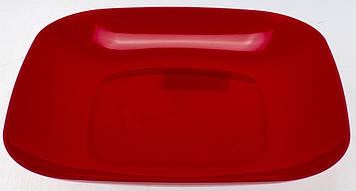 Тарілка пласт. плоска(50)