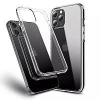 Прозрачный силиконовый чехол Apple iPhone 12 Pro