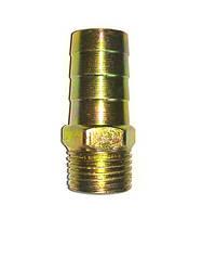 Оцинкований Штуцер 20 мм, з зовнішньою різьбою 1/2.