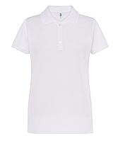 Белые поло футболки женские JHK POLO REGULAR
