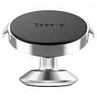 Автодержатель магнитный Baseus Small Ears Series Magnetic Silver (SUER-B0S)