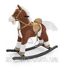 Интерактивная Лошадка-качалка Milly Mally Mustang, машет хвостом, звуки