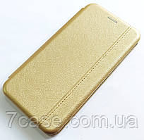 Чехол книжка Momax New для Huawei P40 lite E Золотистый