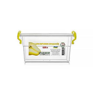 Контейнер для харч. прод. 0,85 л з ручками 11х15,5х8,4см №NP-52/0181