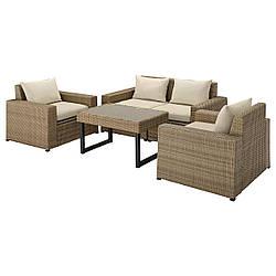 IKEA Комплект мебели садовой SOLLERÖN (ИКЕА СОЛЛЕРОН) 492.569.09