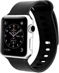Силиконовый ремешок Promate Rarity-42ML для Apple Watch 42-44 мм Black