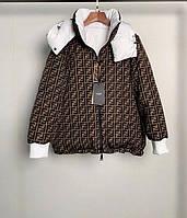 Женская куртка пуховик Fendi