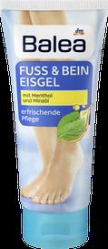 Охолоджуючий гель для ступень Balea Fuss & Bein Eisgel 100мл М'ята і М'ятна олія