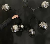 Люстра-трансформер в стиле лофт молекула на 6 ламп, фото 1