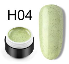 Сахарный цветной гель с мелким шиммером, 5 мл, №H04 (фисташковый)