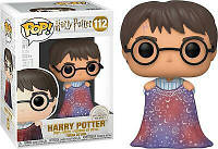 Фигурка Funko Pop Фанко Поп Гарри Поттер Гарри с мантией Harry with Invisibility Cloak 10 см HP HI 112 (CZ00HP