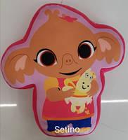 Подушка для девочек оптом, Disney, 40*40 см,  № 610-208