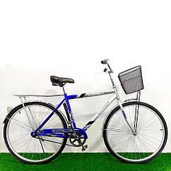 Городской велосипед Салют Men 28 дюймов синий