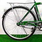 Городской велосипед Салют Men 28 дюймов зеленый, фото 3
