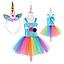 Праздничный костюм единорог Радуга Дэш Май Лител Пони - Rainbow Dash, Unicorn, My Little Pony, Disney, фото 2