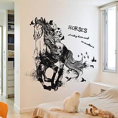 Интерьерная наклейка Лошадь (90х60см)
