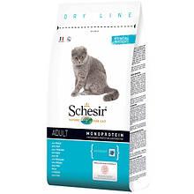 Сухий корм для кішок Шезир Schesir Cat Adult Fish з рибою 1,5 кг