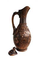 Кувшин глиняный винный   лепка 3 л