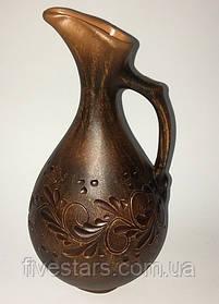 Кувшин винный глиняный декор  0,5 л