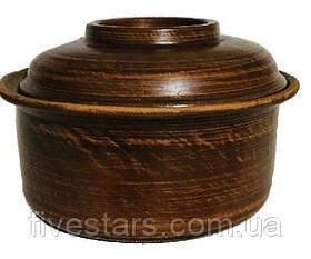 Кастрюля малая глиняная   Гладкая 1,5 л