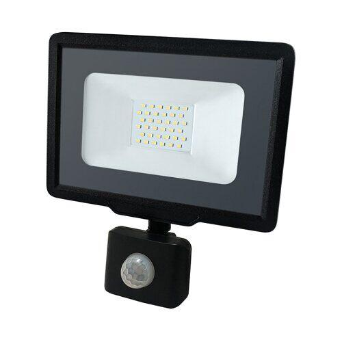 Светодиодный прожектор BIOM 30W S5-SMD-30-Slim+Sensor 6200К 220V IP65 14584