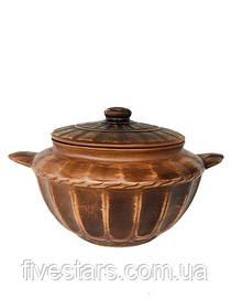 Супник глиняный   декор 3,5 л