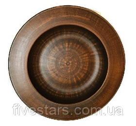 Глиняная тарелка   Паста гладкая  250 мм.