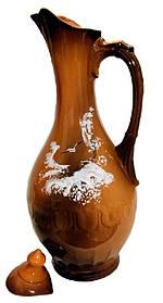 Кувшин глиняный винный  Море 3 л