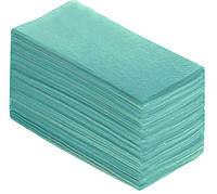Рушники паперові зелені V-складка (160 шт/уп)