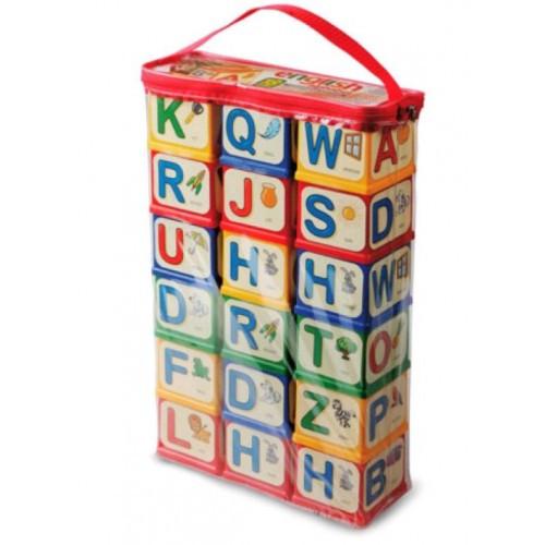 Кубики English alphabet ЮНИКА