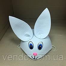 Шляпка Зайца белая, фетровая