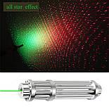Зеленая лазерная указка высокой мощности с регулируемым фокусом и аккумулятором 1000 метров, фото 10