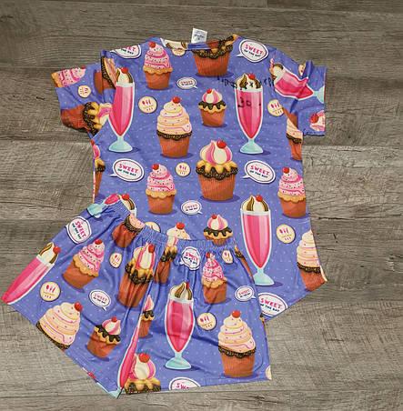 Молодежная пижама 60-1, фото 2