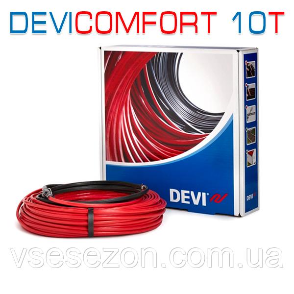 DEVIcomfort 10T тонкий кабель под плитку