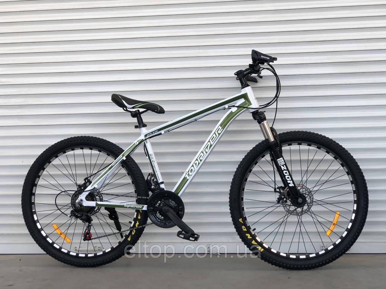 Спортивный горный алюминиевый велосипед TopRider 680 26 дюймов колеса