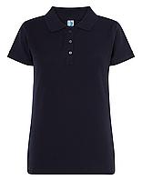 Темно-синие поло футболки женские JHK POLO REGULAR